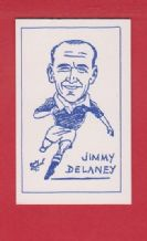 Manchester United Jimmy Delaney Scotland (PY)